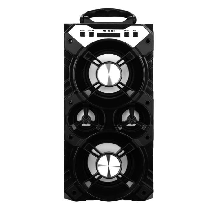 Extérieur Haut-parleur Portable Bluetooth Stéréo Sans Fil Super Bass W - Radio Usb Tf Fm @hanza18244