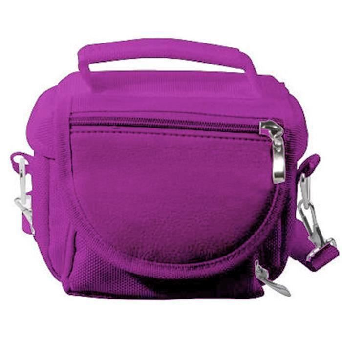HOUSSE DE TRANSPORT NINTENDO Sacoche Multi 3DS/3DS XL/2DS Violet
