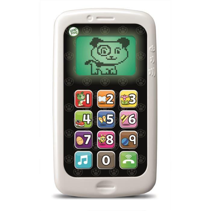 TÉLÉPHONE JOUET LEAPFROG Mon Téléphone Parle et Compte