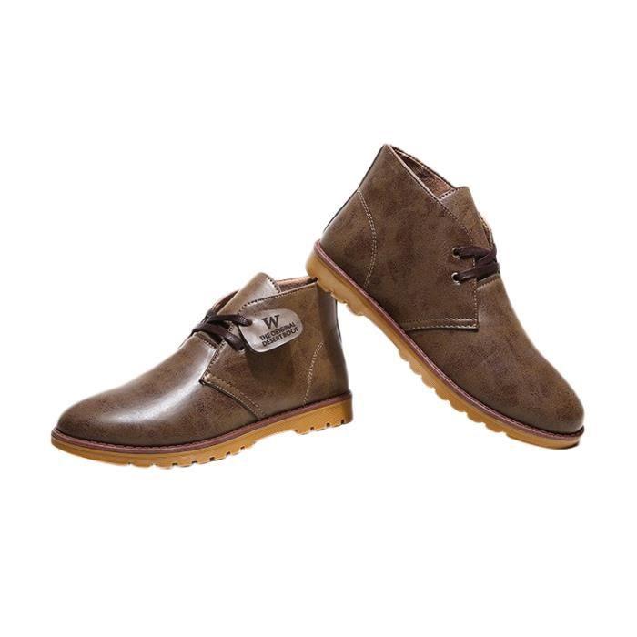 Chaussures Homme Mocassins Lacets Elégant Décontracté
