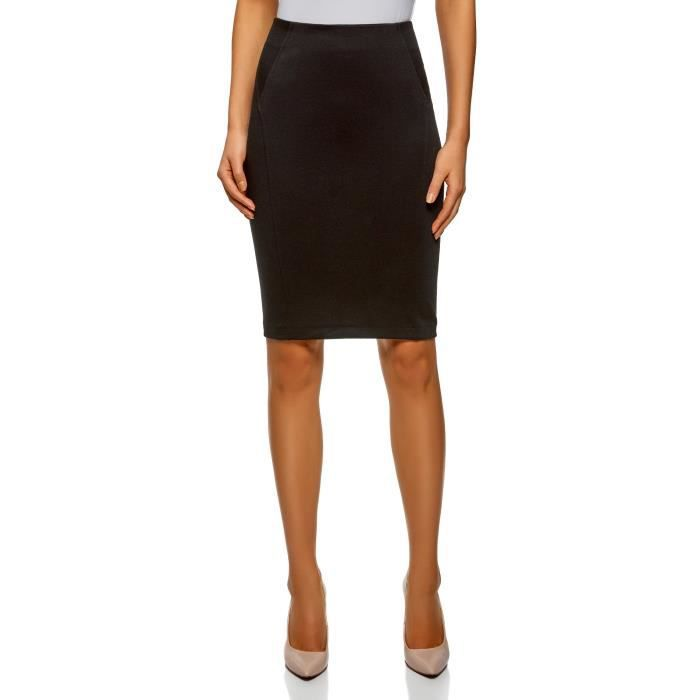 f5bd2f86f6614a Jersey femmes Jupe crayon O3P6S Taille-42