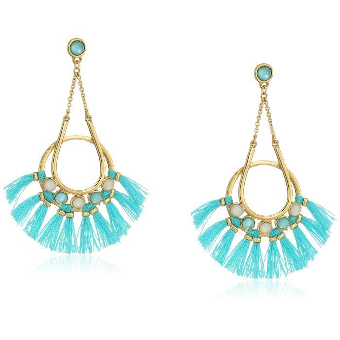 Rebecca Minkoff Utopia Tassel Chandeliers Drop Earrings KBD81