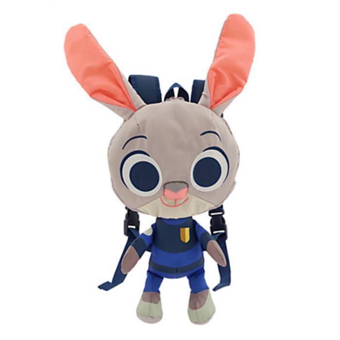 Zootopia Judy Hopps enfants de poupées en peluche sac à dos