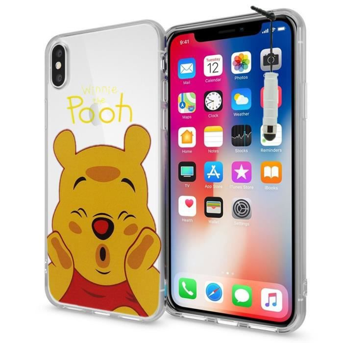 coque silicone ultra fine iphone x