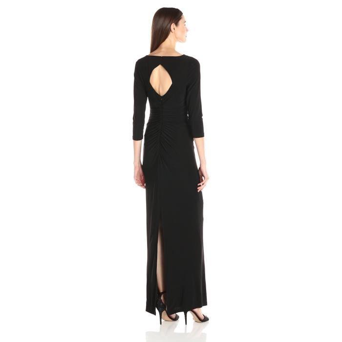 Craze robe chic vintage des années 1950 de style hepburn sans manches de parti de jardin BETD3