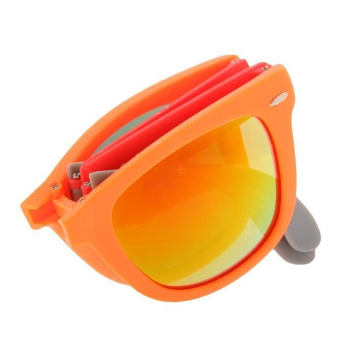 De Lunettes Unisexe 2238 rouge Adultes de neon Pliante OR DZ2039S soleil Puta GR Madre 69 lunettes orange BXTrxBqF