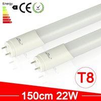 2×Auralum® Tubes LED T8-G13 150CM 22W Tubes Fluorescents Classiques Tubes Néon de Haute Qualité Blanc Neutre avec Starters