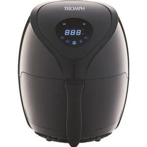 TRIOMPH ETF1801 Friteuse électrique sans huile programmable Air Fryer - Noir