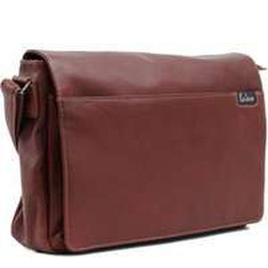 BESACE - SAC REPORTER Besace bandouliere homme Cuir - Marron