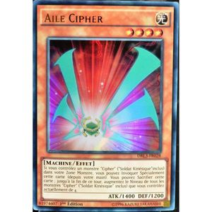 CARTE A COLLECTIONNER carte YU-GI-OH DRL3-FR028 Aile Cipher
