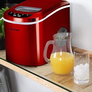 MACHINE À GLACONS Machine à glace machine à glaçons Rouge Neuf
