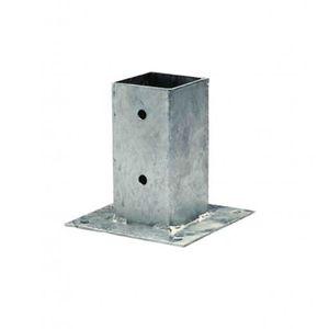 BROUETTE Support de poteau à visser 7 x 7 x 15 cm ARTHUR