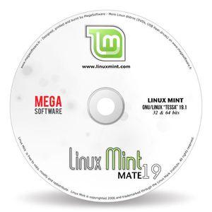 SYSTÈME D'EXPLOITATION Linux Mint 19 Live - MATE - 32 & 64 bits - DVD