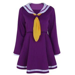 4a6515a45a77f0 Robe femme adulte - Uniforme marin Manches Longues style écolière étudiante