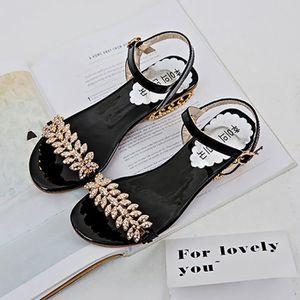 SANDALE - NU-PIEDS Femmes Bohême Med Talon Anti Débardage Chaussures