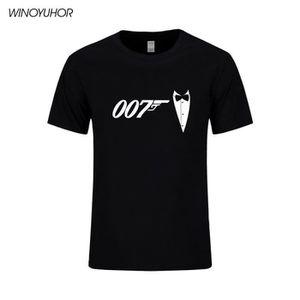 6fd3c6d2c5ff9 T-shirt James bond homme - Achat   Vente T-shirt James bond Homme ...