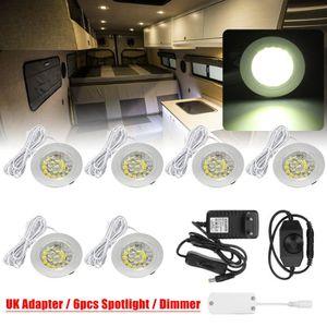 AMPOULE - LED NEUFU 6x LED Spot Lights Lampes d'intérieur + dimm