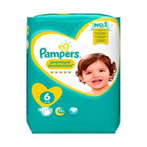 COUCHE 56 Couches Pampers New Baby - Premium Protection t