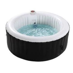 SPA COMPLET - KIT SPA Spa rond gonflable - 6 places - Ø2,08 x H 0,65 m +