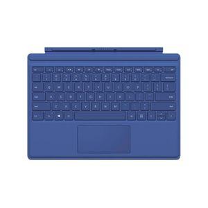 CLAVIER D'ORDINATEUR Clavier Type Cover Surface Pro 4 Blue