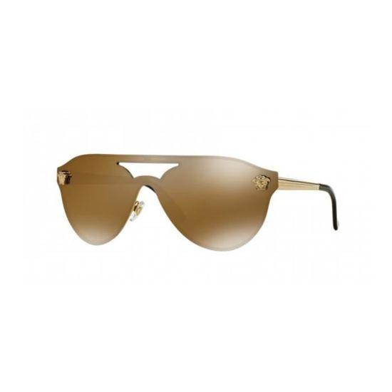 7882b7c9804937 Lunettes de soleil Versace VE2161 GOLD (1002F9) - Achat   Vente ...