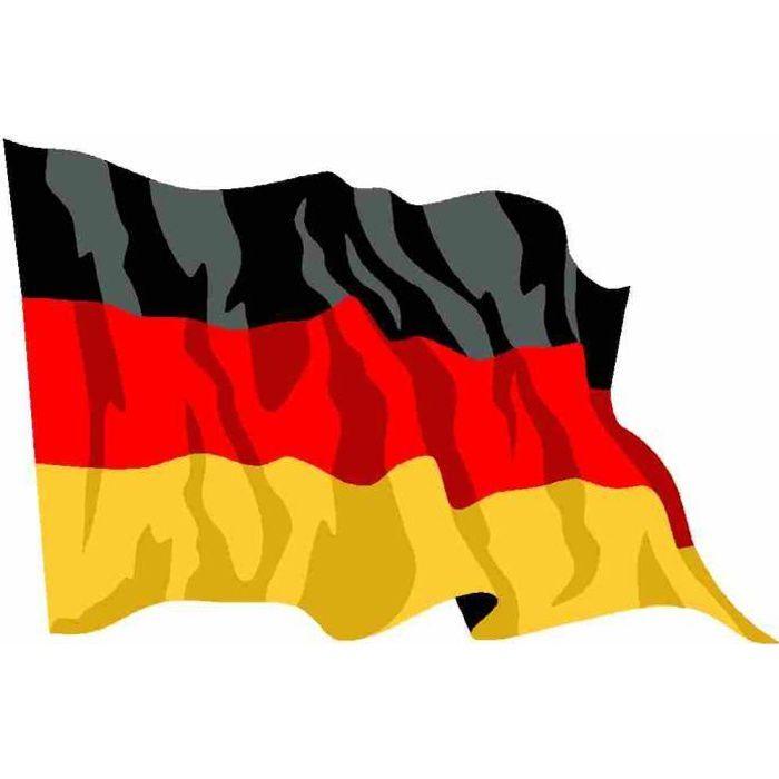 Drapeau Allemagne Drapeau Allemand Deutsch Achat