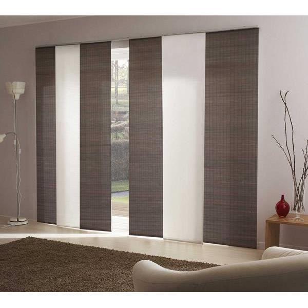 panneau japonais bois achat vente panneau japonais bois pas cher cdiscount. Black Bedroom Furniture Sets. Home Design Ideas