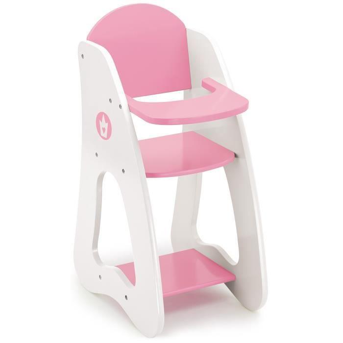 chaise haute poupee bois achat vente jeux et jouets pas chers. Black Bedroom Furniture Sets. Home Design Ideas