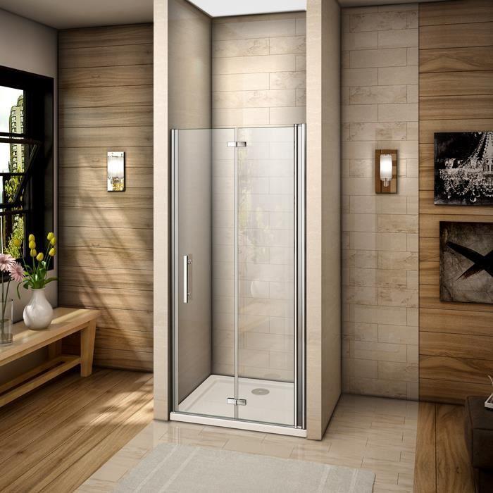Porte de douche pivotante paroi de douche pliante for Montage paroi de douche
