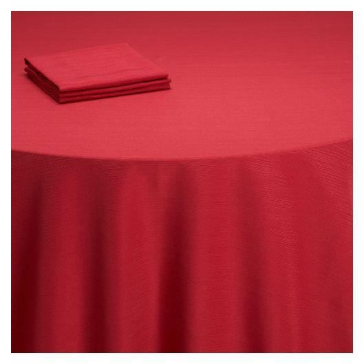 Nappes carree rouge - Achat / Vente Nappes carree rouge pas cher ...