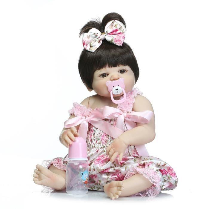 9b61cc9cb9e75 Bebe reborn fille 57 cm - Achat   Vente jeux et jouets pas chers