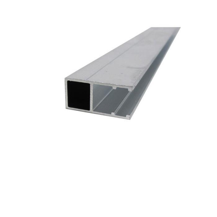 ACCESSOIRE TOITURE Profil bordure monobloc (en U) - toiture polycarbo