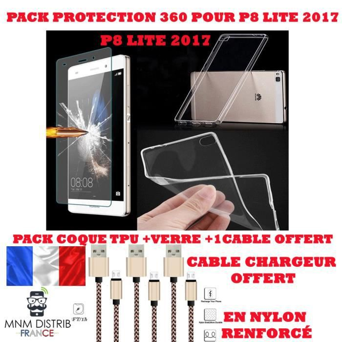 coque chargeur huawei p8 lite 2017