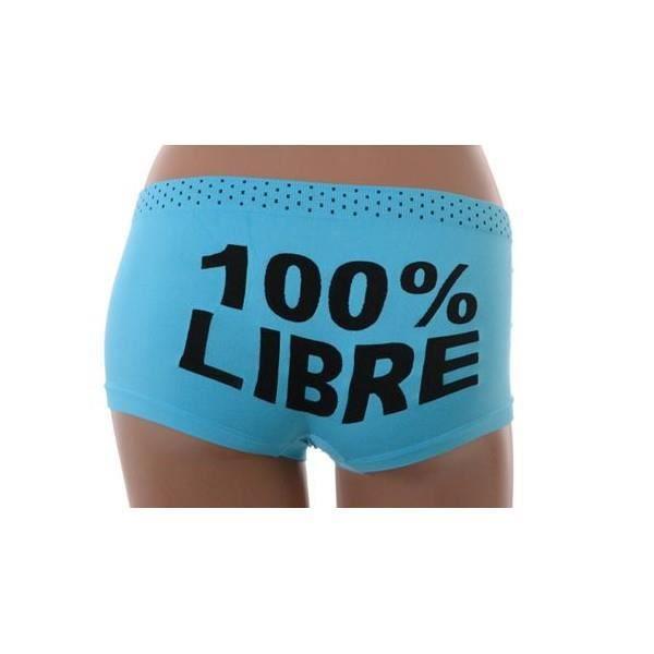Boxer W6459 Boxer Femme Bleu W6459 Microfibre Microfibre Bleu Femme Boxer qvXw8Fv