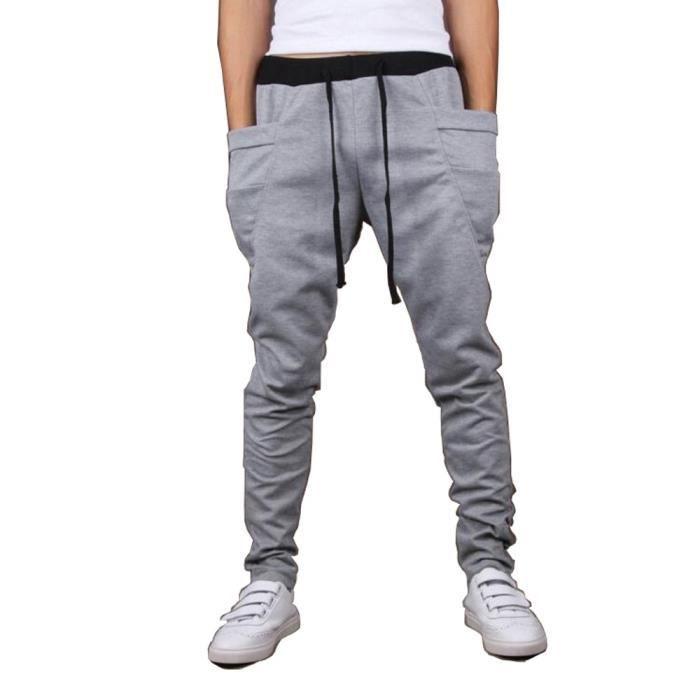 pantalon jogging sport pour homme droit slim harlan sarouel fitness pantalon de surv tement. Black Bedroom Furniture Sets. Home Design Ideas