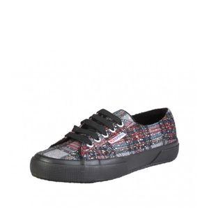 Superga - Marine couleur chaussures, rouge, argent