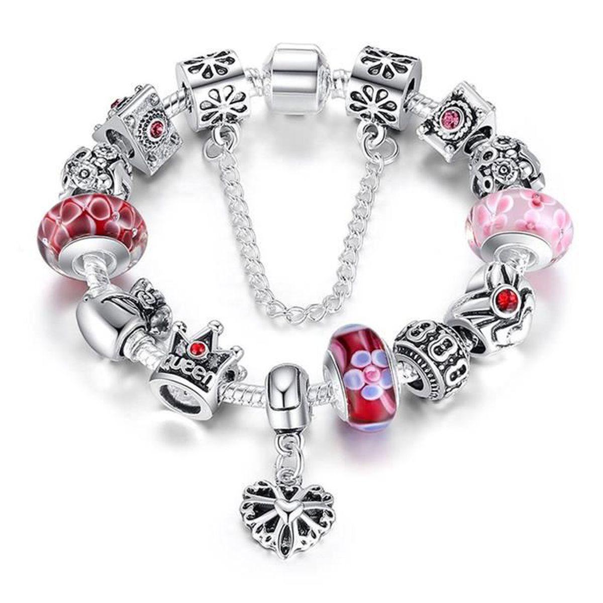 BRACELET - GOURMETTE Bracelet Charms Femmes