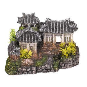 NOBBY Aqua Deco Asian temple 190 x 150 x 120mm pour aquarium