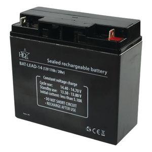 PILES Batterie au plomb acide 12 V 17 Ah