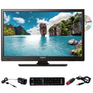 Téléviseur LED ANTARION Téléviseur HD DVD DVIX Slim LED 23,6