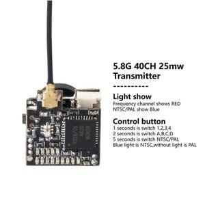 PIÈCE DÉTACHÉE DRONE LST-S2 800TVL CMOS 25MW 40CH NTSC - PAL Switchable
