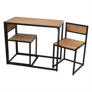 TABLE À MANGER COMPLÈTE Harbour Housewares - 2 personne table de salle à m