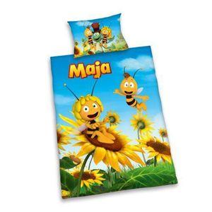 PARURE DE COUETTE Maya l'abeille housse de couette et taie d'oreille