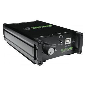 BOITIER DE DIRECT Mackie MDB-USB - Boitier de direct actif USB