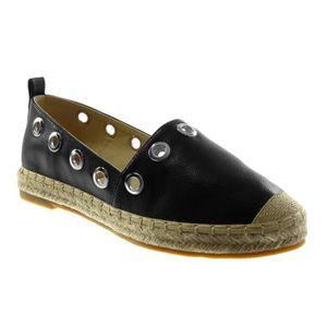 MOCASSIN Angkorly - Chaussure Mode Espadrille slip-on femme