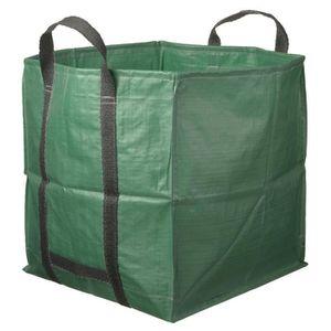 COMPOSTEUR - ACCESSOIRE Nature sac de déchet de jardin carré 325 L verte 6