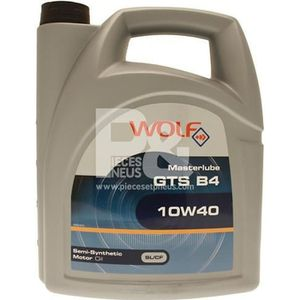 HUILE MOTEUR Bidon 5 litres d'huile 10w40 Wolf 8304019