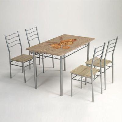 4 Chaises Vente Rustique Achat Cuisine Ensemble De Table kTPXOZiu