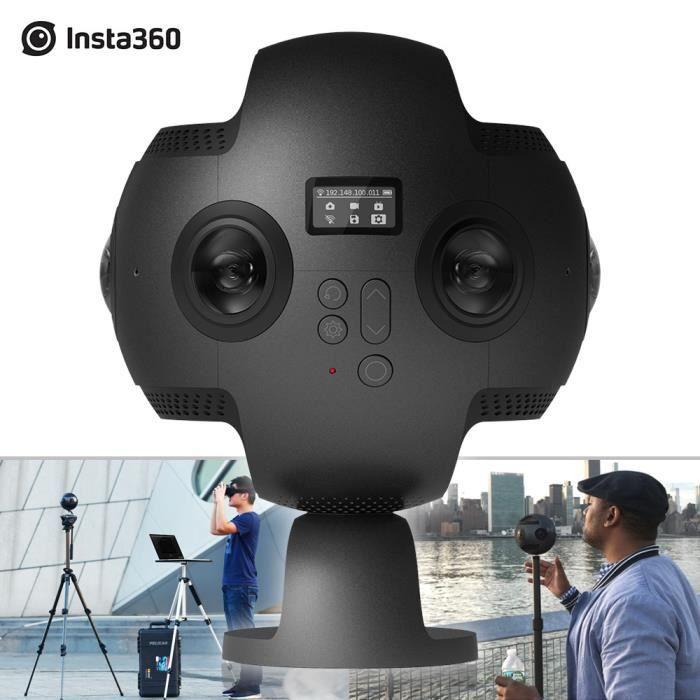 CAMÉRA SPORT Insta360 Pro 8K 360° VR Vidéo Caméra Panoramique 6
