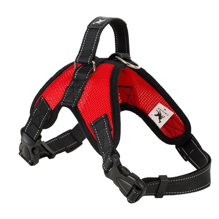 Tailup Chien Conduit Sangles De Poitrine Grand Animal Compagnie Réglable En Plein Air Confortable Qyy71127714a_1234